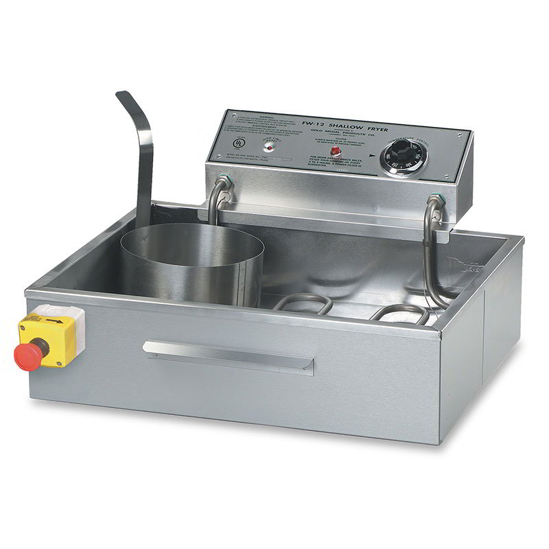 "Gold Medal 8050D 17.25"" Electric Funnel Cake Fryer w/ (4) Cake Capacity, 240v/1ph"