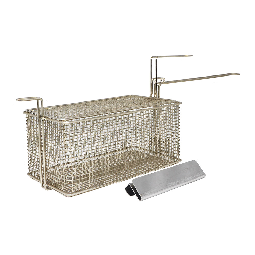 Gold Medal 8053 Half Size Fryer Basket, Steel