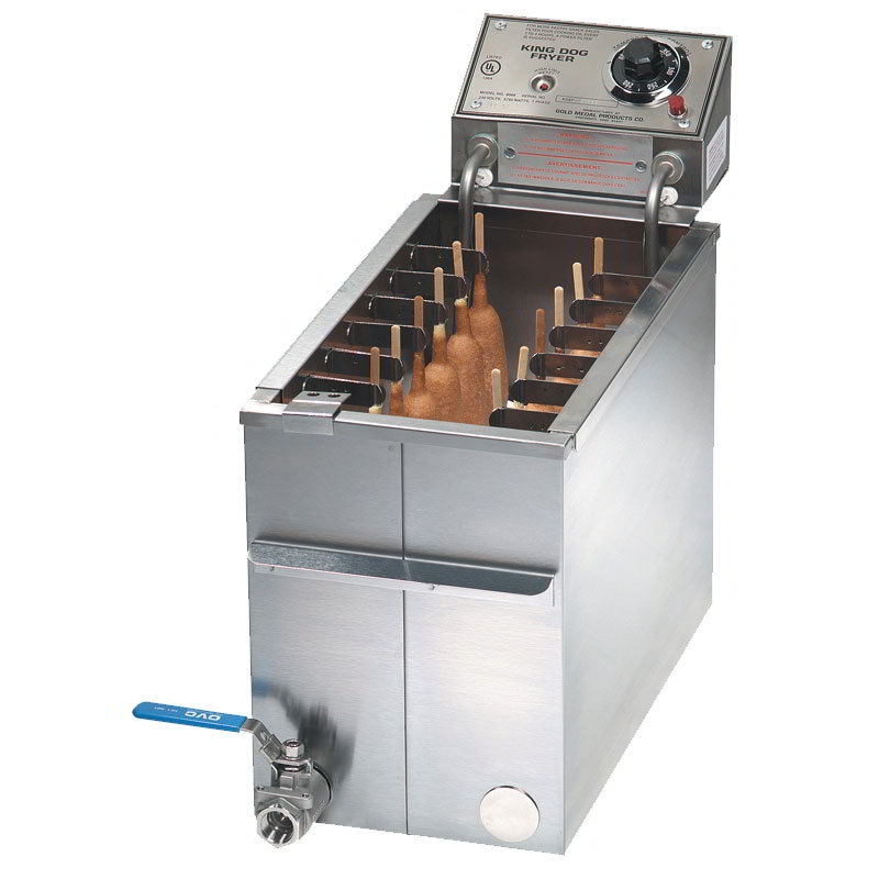 Gold Medal 8068FL Countertop Electric Fryer - (1) 50-lb Vat, 230v/1ph