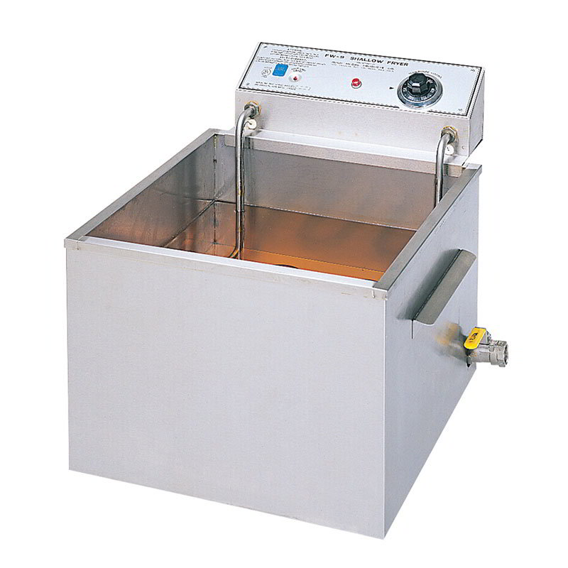 Gold Medal 8073 Countertop Electric Fryer - (1) 47-lb Vat, 230v/1ph