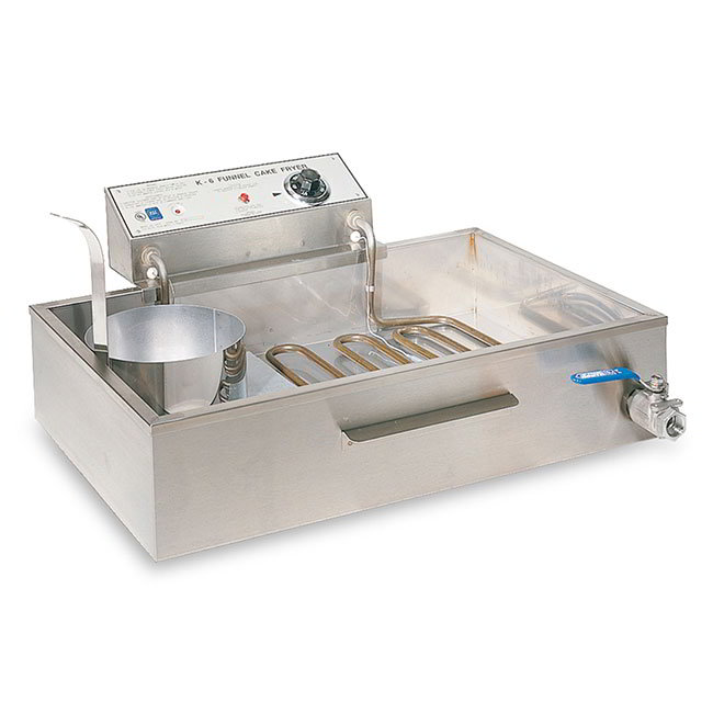 "Gold Medal 8075 27.38"" Electric Funnel Cake Fryer, 208v/1ph"