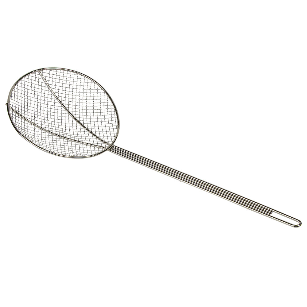 Gold Medal 8077 Fryer Skimmer Basket w/ Long Handle