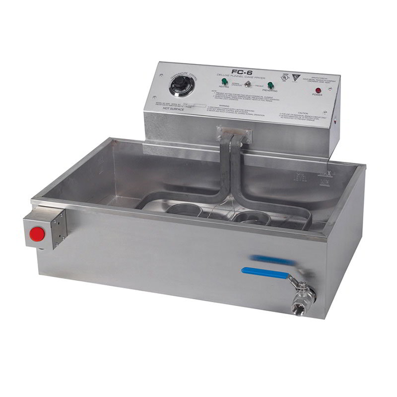 "Gold Medal 8082E 27.5"" Electric Funnel Cake Fryer, 240v/1ph"
