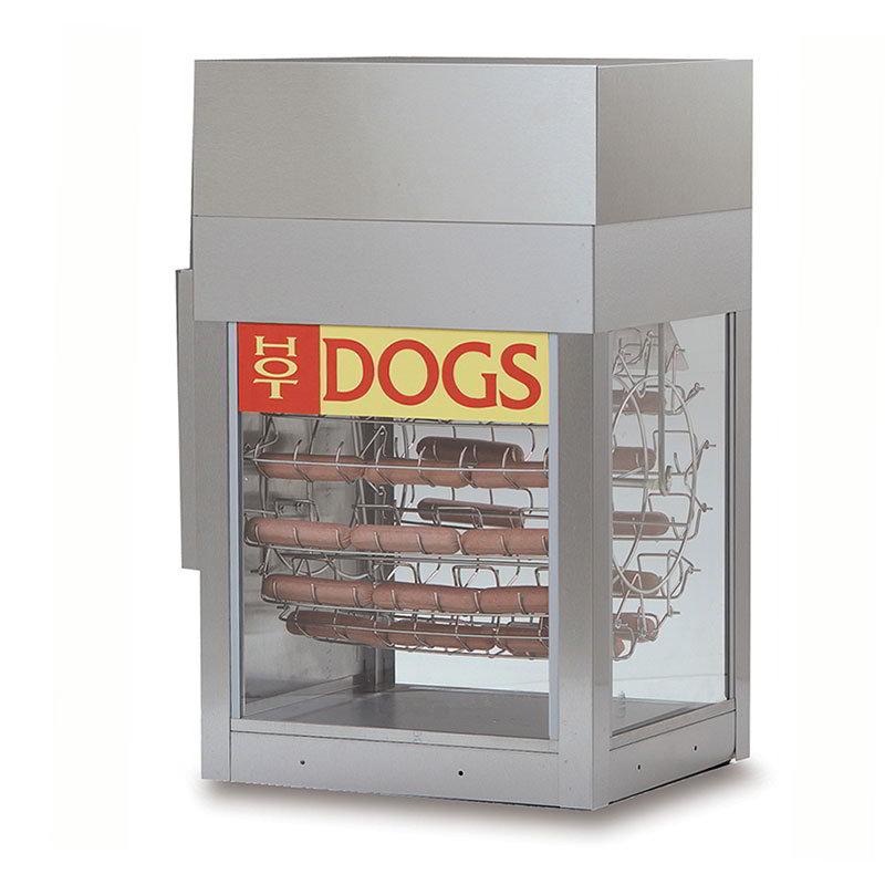 Gold Medal 8102 Dogeroo Cooker w/ 56-Hot Dog & 40-Bun Cap...