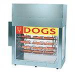 Gold Medal 8103 Super Dogeroo Rotisserie Cooker w/ 84-Hot Dog & 60-Bun Capacity, Regular