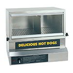 Gold Medal 8151 Heavy Duty Steamer & Bun Warmer w/ 75-Hot Dog Capacity & Adjustable Steam