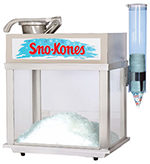 Gold Medal 1002S Deluxe Sno-Konette Ice Shaver Snow Cone Machine w/ 500-lb/hr Capacity
