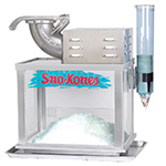 Gold Medal 1003S Sno-Konette Ice Shaver Snow Cone Machine w/ 500-lb/hr Capacity