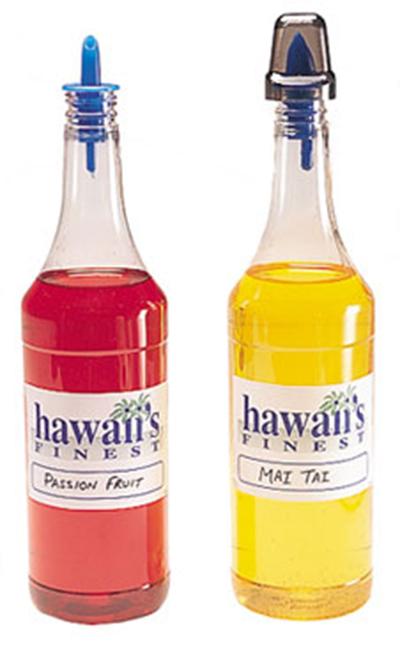Gold Medal 1059 12-Shaved Ice Flavor Bottles/Case