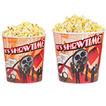 Gold Medal 1196T 32-oz Showtime Design Disposable Popcorn Cups, 500/Case