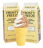 Gold Medal 1218 Non-Dairy Dry Frosty Freeze Soft Serve Mix, Chocolate