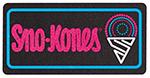 Gold Medal 1984 Sno-Kones Lighted Sign