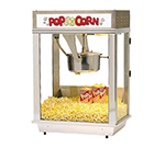 Gold Medal 2003ST 120208 Whiz Bang Popcorn Machine w/ 12-oz Kettle & Stainless Dome, 120/208V