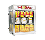 Gold Medal 2004 Astro Pop Staging Cabinet w/ Rear Swing Out Doors & 3-Shelf Warmers