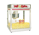 Gold Medal 2010E 120208 Pop-O-Gold Popcorn Machine w/ 20-oz Kettle, Counter Model, 120/208V