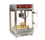 Gold Medal 2022EN 120240 Astro 16 Popcorn Machine w/ 16-oz Unimaxx Kettle & Neon Dome, 120/240V