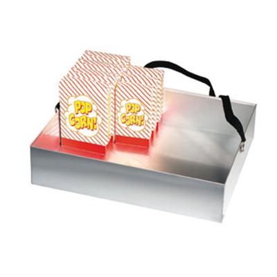 Gold Medal 2048 Grandstand Corn Vending Tray w/ 40-Box Capacity & Strap