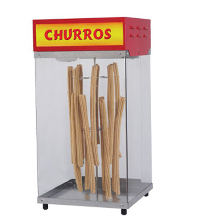 Gold Medal 2049 Hanging Churros Display, Lighted Cabinet