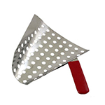 Gold Medal 2072 Perforated Jet Scoop, Stainless