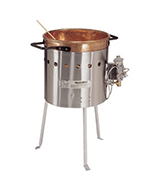 Gold Medal 2081 19-in Caramel Corn Kettle w/ Handles, Copper