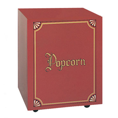 Gold Medal 2120 Red Antique Citation Popcorn Base