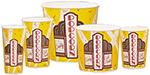 Gold Medal 1196 32-oz Premier Design Disposable Popcorn Cups, 500/Case