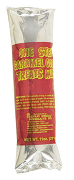 Gold Medal 2142 Caramel Corn One Step for 2.5-gal Mixers, (24) 11-oz Foil Pouches/Case