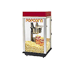 Gold Medal 2152ST 120208 Bronco Pop Heavy Duty Popcorn Machine w/ 8-oz Kettle & Stainless Dome, 120/208V