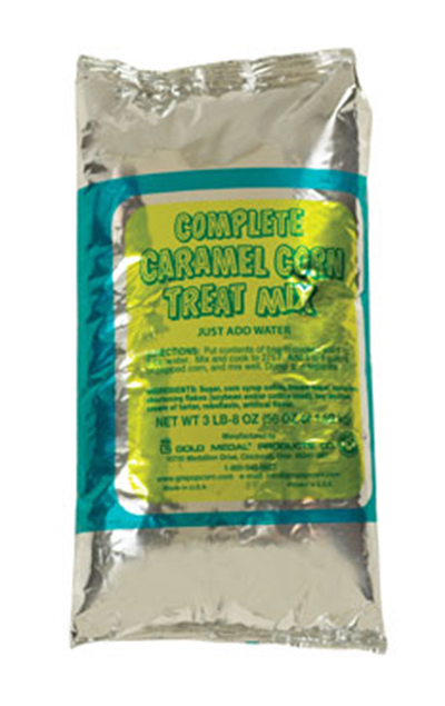 Gold Medal 2160 Caramel Corn Complete for 5-gal Mixers, (6) 55-oz Bags/Case