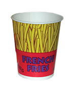 Gold Medal 2301 16-oz Printed French Fry Cups, 500/Case