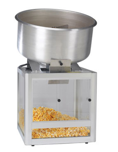 Gold Medal 2346 20-in Countertop Cheddar Easy Shop Combo Mixer Display w/ Slide Door