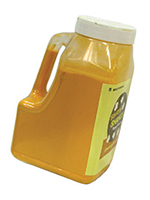 Gold Medal 2383S 16-oz Savory Shakes Bottle Plastic w/ Handle, White Cheddar Cheese, 4/Case
