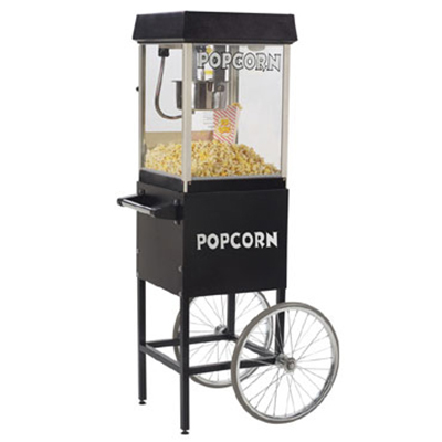 Gold Medal 2404MD 120240 FunPop Popcorn Machine w/ 4-oz EZ Kleen Kettle & Midnight Dome, 120/240V