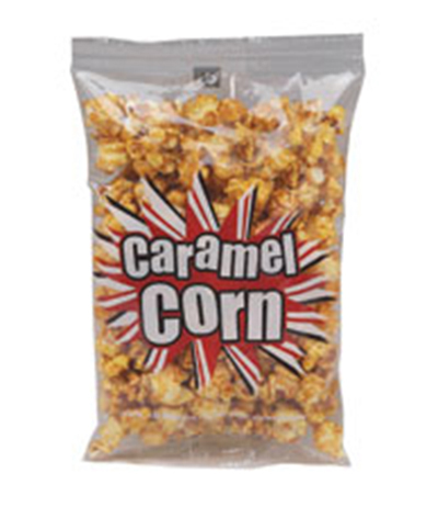 Gold Medal 2427 3.5-oz Pre-Packaged Caramel Corn, 48-Bags/Case