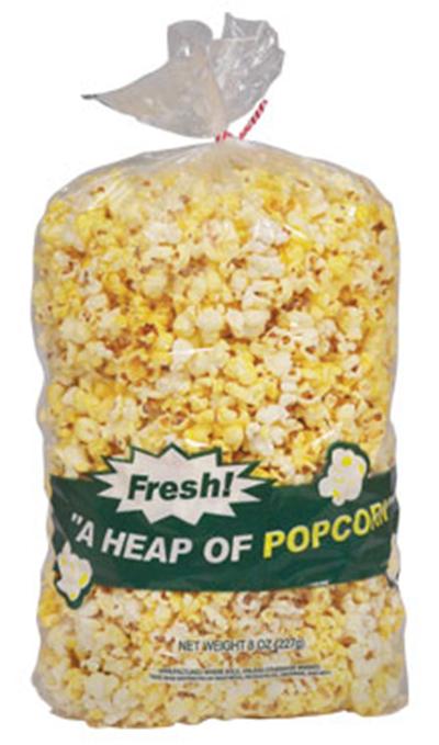 Gold Medal 2455 8-oz Disposable Heap-O-Popcorn Bags, 500/Case
