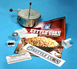 Gold Medal 2470 Retro Kettle Corn Kit w/ Thermostat, Measurer, Timer & Decals