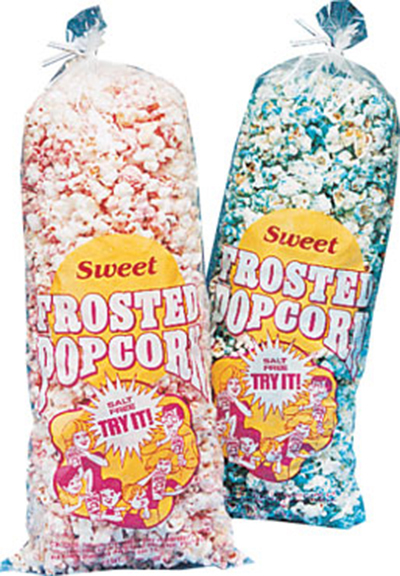 Gold Medal 2531 5.7-oz Disposable Sweet Frosted Poly Bags, 1,000/Case