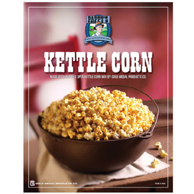 Gold Medal 2546 Pappys Kettle Corn Poster