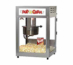 Gold Medal 2552 120208 Pop Maxx Popcorn Popper - 14-oz EZ Kleen Kettle & Stainless Dome, 120v