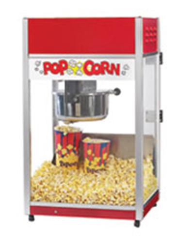 Gold Medal 2656CT 120240 Total Pop Popcorn Machine w/ 6-oz EZ Kleen Kettle & Ready Light, 120/240V