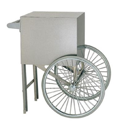 Gold Medal 2659ST Popcorn Cart w/ 2-Spoke Wheels, Stainless