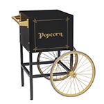 Gold Medal 2689BKG Fun Pop Cart for 8-oz Popper Machine w/ Rear Access Door, Black