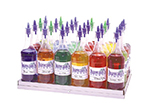 Gold Medal 2724 Shave Ice Flavor Bottle Rack w/ 20-Bottle Capacity, Stainless