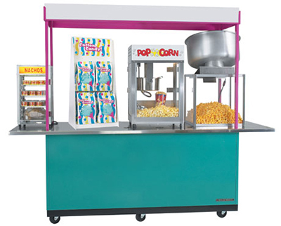 Gold Medal 2950 Time Out Snack Bar w/ 5-Machine Capacity