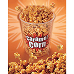 Gold Medal 2990 Caramel Corn Poster, Laminated