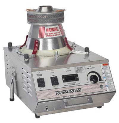 Gold Medal 3005EMS 240 Tornado 200 Cotton Candy Machine w/ Lock N Go System, 240/1V