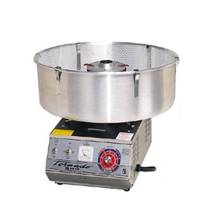Gold Medal 3007 High Output Tornado Floss Cotton Candy Machine w/ Aluminum Floss Bowl