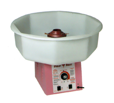 Gold Medal 3024-00-000 Full Size Floss Boss Cotton Candy Machine w/ Non-Metallic Floss Bowl