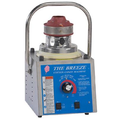 Gold Medal 3030SR Breeze Cotton Candy Machine w/ Lock N Go Handle & Tubal Heating Element