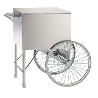 Gold Medal 3118ST 28-in Medium Popcorn Cart, Stainless